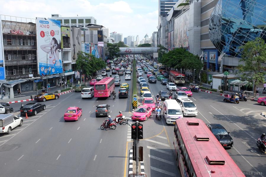First steps in Bangkok.